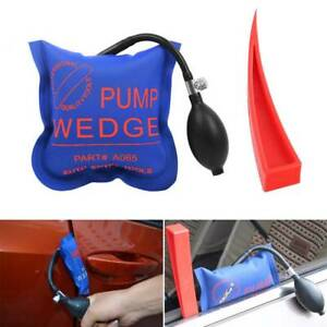 Car Door Red Window Open Air Bag Pump Wedge Pad Entry Inflatable Shim Tools