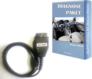 Vcm Diagnostic Interface For Ford Fiesta Scanner Tool 16 Pin Obd2 Eobd