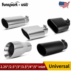 Diesel Exhaust Tip 2 25 2 5 3 3 5 4 5 Inlet 7 9 12 15 Long Tail Pipe