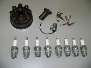 Tune Up Kit 18mm Spark Plugs 30 31 32 33 Hudson 8cyl New 1930 1931 1932 1933
