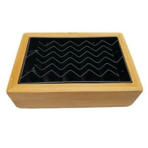 Bamboo Drip Tray For Airpot Coffee Rack Thermal Brewer Bdt