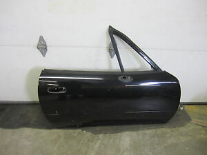 Door Panel Body Black Passenger R Rh Right Side Front For 90 97 Mazda Miata Mx 5