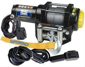 Superwinch 1140220 Lt 4000 Atv Winch Wire Rope