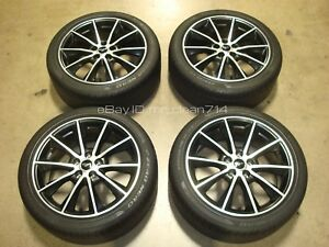 19 15 18 Ford Mustang Gt Wheels Rims Oem Tires Factory V6 5 0 16 17 Premium