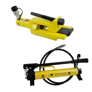 Esco Equipment 10213 Giant Tire Bead Breaker Kit 1 Quart Hydraulic Manual Pump