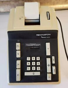 Remington Rand Adding Machine Model Number 41012 10 Parts Only