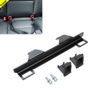 Baby Child Safety Seat Belt Holder Bracket Connector Guide Groove For Audi A4 A6
