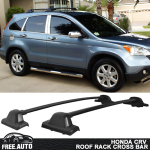 Fits 2007 2011 Honda Crv Roof Rack Oe Factory Style Cross Bar Black 2pc