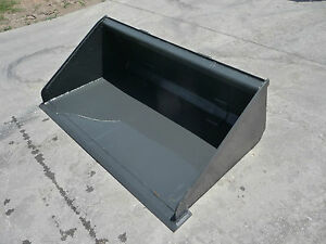 Toro Dingo Mini Skid Steer Attachment 42 Low Profile Smooth Bucket Ship 149