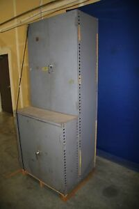 Used Metal Storage Cabinet 36 X 31 X 88 17749