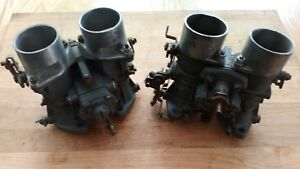 Pair Solex Phh Carburetors Bmw 2002tii Mercedes 190sl 40 44