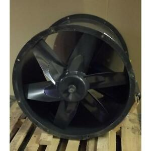 Dayton 6tfd9 30 Diameter Belt Drive S steel Vertical horizontal Tubeaxial Fan