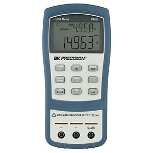Bk Precision 879b Dual Display Handheld Lcr Meter W Esr Measurement 220v