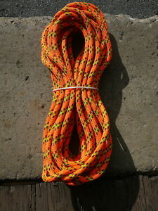 Sterling 24 Strand Arborist Rope Tree Climbing Line 7 16 X 79 Scion Orange