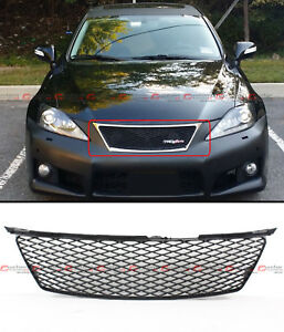 For 06 08 Lexus Is250 Is350 Isf F Sport Style Honeycomb Mesh Front Bumper Grille