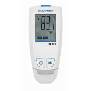 Sauermann Kt 120 Temperature Data Logger With Direct Usb Connection ip 65