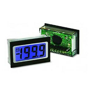 Lascar Sp 400 blue 3 1 2 digit Led Voltmeter W 200 Mv Dc Blue Led