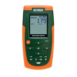 Extech Prc20 nist Thermocouple Calibrator W nist Calibration