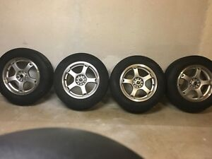 Goodyear Assurance P225 60r16 Tires And Mb Drifters Wheels