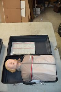 Laerdal Resusci Anne Adult Manikin Torso Emt Cpr Trainer With Case