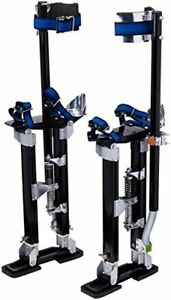 1116 Pentagon Tool tall Guyz Professional 18 30 Black Drywall Stilts For