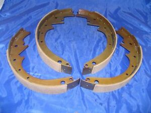 Brake Shoes Front 1948 1954 Hudson Wasp Commodore Hornet 48 49 50 51 52 53 54 55