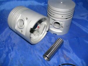 Pistons Rings 48 49 50 51 Ford 226 Ci 6cyl