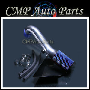 Blue Air Intake Kit Fit 15 17 Vw Gti Golf R Audi A3 2 0l Golf 1 8l Turbocharged