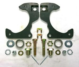1963 1970 Chevy Pickup Truck C10 Zinc Disc Brake Bracket Kit Pair Chevrolet Gmc