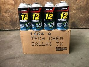 R12 Refrigerant Genuine And Pure Case Of 12 12oz Cans By Sercon