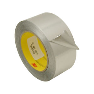3m Scotch 425 Aluminum Foil Tape 2 In X 60 Yds silver