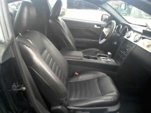2005 2009 Ford Mustang Gt Front Right Passenger Seat Leather Black 05 06 07 08