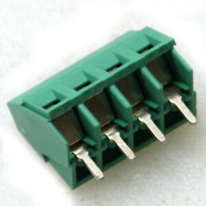 Lot Of 50 4 pin Pcb Screw Terminal Block Connector 12a 300v