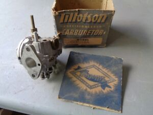 Nos Vintage Tillotson Carb H 12a Small Engine Cushman Scooter Outboard Mower New