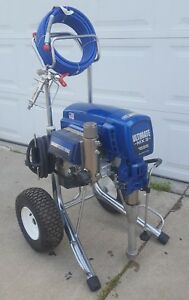 Graco Ultimate Mx Ii 1595 Electric Airless Paint Sprayer 1095 795 695