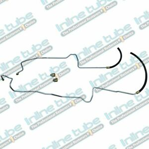 2000 02 Fits Jeep Wrangler Tj 4 0l I6 Transmission Cooler Lines Set Stainless