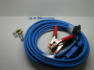 Disc 25 Heavy Duty Booster Cables W blue Quick Connect