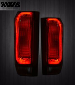 Smoked Led 1987 1996 Ford Bronco F150 F250 F350 Tail Lights