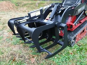Toro Dingo Mini Skid Steer Attachment 42 Root Rake Grapple Bucket Ship 149