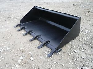 Toro Dingo Mini Skid Steer Attachment 48 Low Profile Tooth Bucket Ship 149