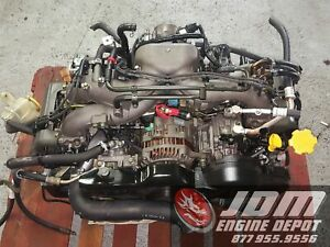 02 05 Subaru Impreza 2 0l Sohc 4cyl Replacement Ej253 Engine Jdm Ej203