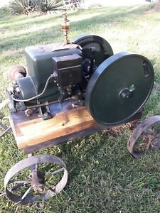 Hit Or Miss Sattley 1 5 Hp Engine Runs