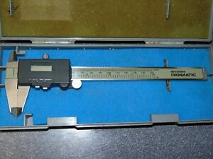 Used Mitutoyo Digital Caliper In Very Good Shape With Case Model 500 130