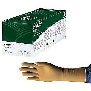 Protexis Neoprene Surgical Glove Size 7 5 Powder free Nitrile Coating 50 box