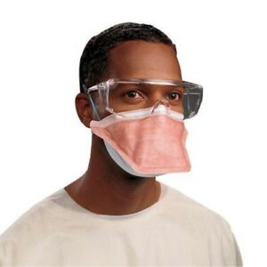 Fluidshield Particulate Respirator Surgical Mask N95 Pouch One Size Orange Bx 35