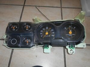 81 87 Chevy Gmc Truck Instrument Cluster For Standard Transmission