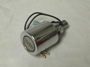 New 12 Volt Electronic Solenoid For Air Horns Easy Install Hd Chrome For Horn