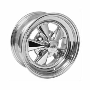 Cragar Ss Super Sport Direct Drill 15x6 5x4 3 4 2pc Chrome Pair Wheels 61c563432