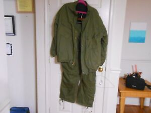 Vintage 1980 Chemical Protective Suit Sz X Large Army Military Benchmark Ind