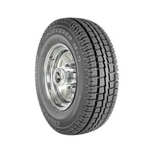 Cooper Tire Discoverer M s Tire 235 75 15 Radial Blackwall 50445 Each